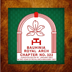 Bauhinia Royal Arch Chapter No  322